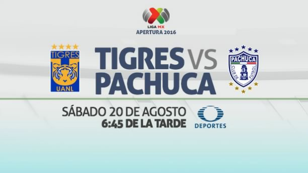 Tigres vs Pachuca, Jornada 6 del Apertura 2016   Resultado: 4-2 - tigres-vs-pachuca-en-vivo-jornada-6-apertura-2016