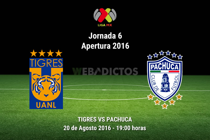 Tigres vs Pachuca, Jornada 6 del Apertura 2016 | Resultado: 4-2 - tigres-vs-pachuca-jornada-6-apertura-2016