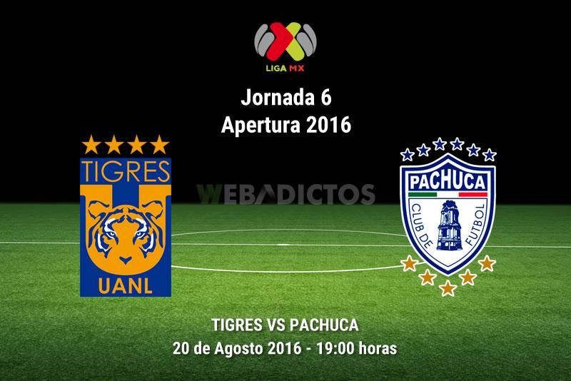 Tigres vs Pachuca, Jornada 6 del Apertura 2016   Resultado: 4-2 - tigres-vs-pachuca-jornada-6-apertura-2016