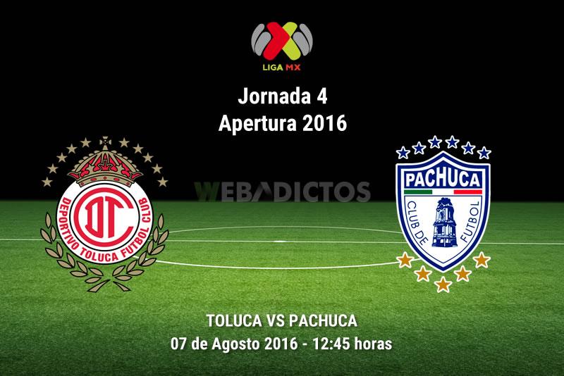 Toluca vs Pachuca, Jornada 4 de la Liga MX A2016 | Resultado: 2-0 - toluca-vs-pachuca-apertura-2016