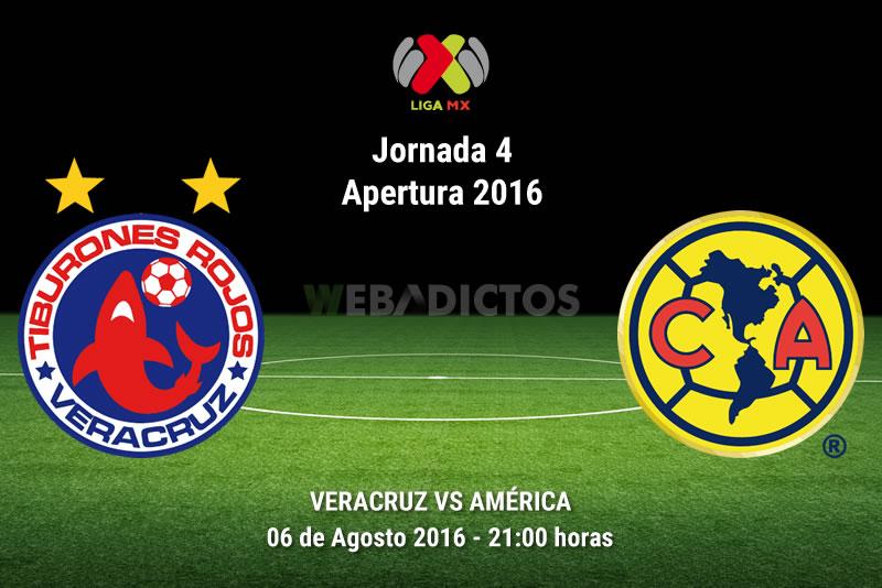 Veracruz vs América, Jornada 4 del Apertura 2016   Resultado: 2-4 - veracruz-vs-america-apertura-2016-reprogramado