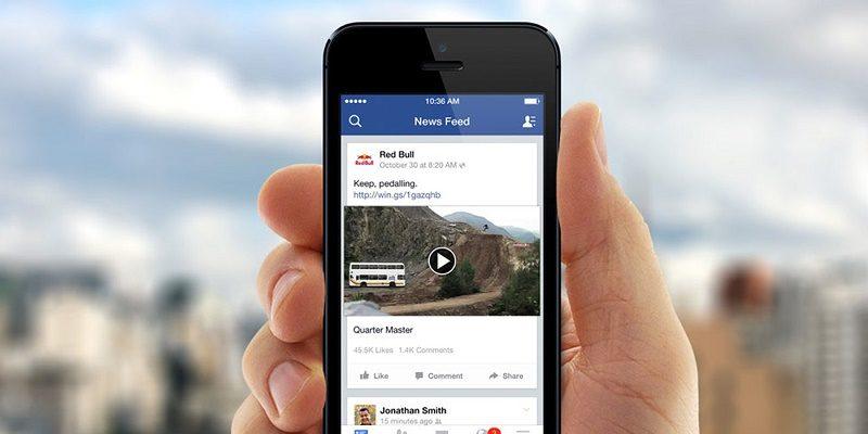 Facebook planea reproducir el audio de los videos automáticamente - videos-800x400