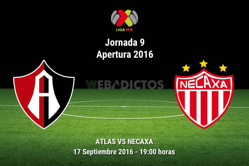 Atlas vs Necaxa, Jornada 9 del Apertura 2016 | Resultado: 0-0 - atlas-vs-necaxa-apertura-2016