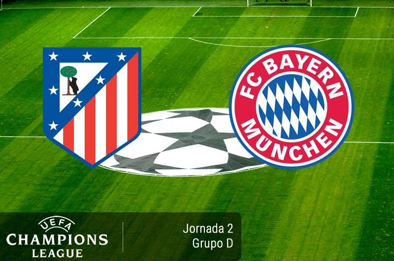 Atlético Madrid vs Bayern Munich, Champions 2016 - 2017   Resultado: 1-0 - atletico-madrid-vs-bayern-munich-champions-league-2016-2017