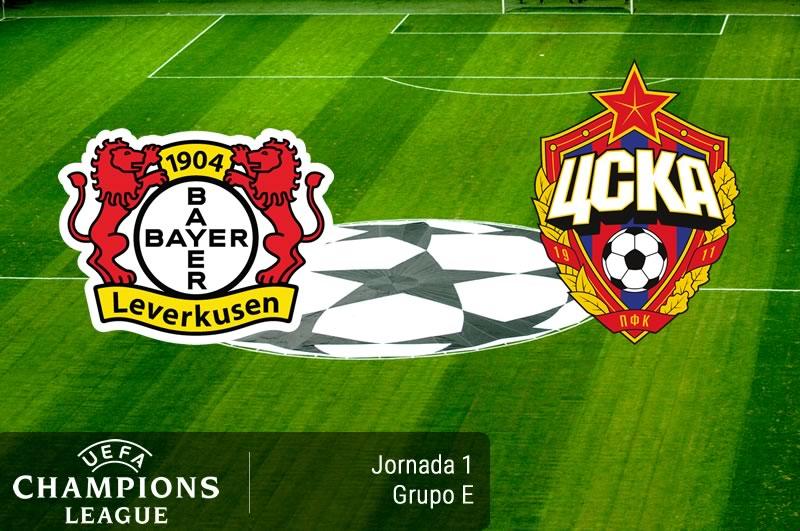 Bayer Leverkusen vs CSKA, Champions 2016-2017 | Resultado: 2-2 - bayer-leverkusen-vs-cska-champions-league-2016-2017