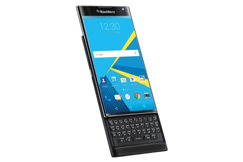 BlackBerry dejará de producir sus propios smartphones - blackberry-priv