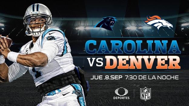 Carolina vs Denver, NFL temporada 2016 - 2017   Futbol Americano - carolina-vs-denver-nfl-2016-2017-en-vivo