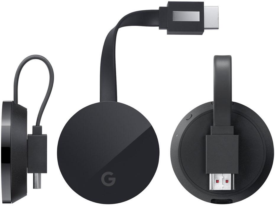 Se filtra el Chromecast Ultra con soporte de contenido 4K - chromecast-ultra
