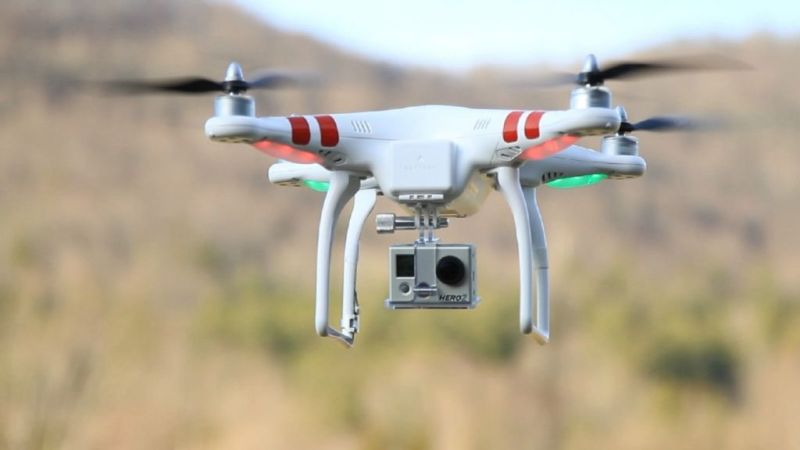 Qualcomm y AT&T se unen para conquistar los cielos con Drones LTE - dron-qualcomm-lte