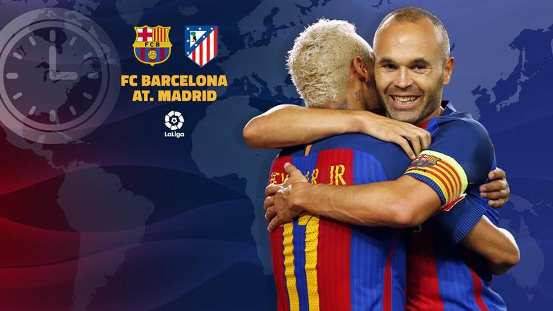 A qué hora juega Barcelona vs Atlético Madrid en la Liga este 21 de septiembre y en qué canal verlo - horario-barcelona-vs-atletico-madrid-liga-2016