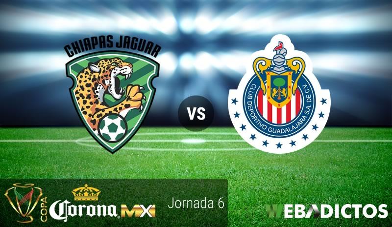Jaguares vs Chivas, J6 de la Copa MX A2016 | Resultado: 2-2 - jaguares-vs-chivas-j6-copa-mx-apertura-2016