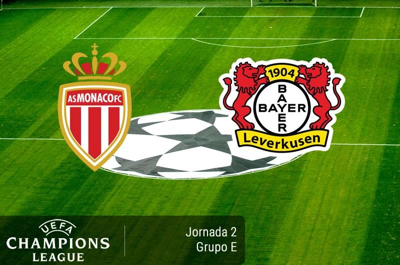Mónaco vs Bayer Leverkusen, Champions 2016 - 2017 | Resultado: 1-1 - monaco-vs-bayer-leverkusen-champions-league-2016-2017