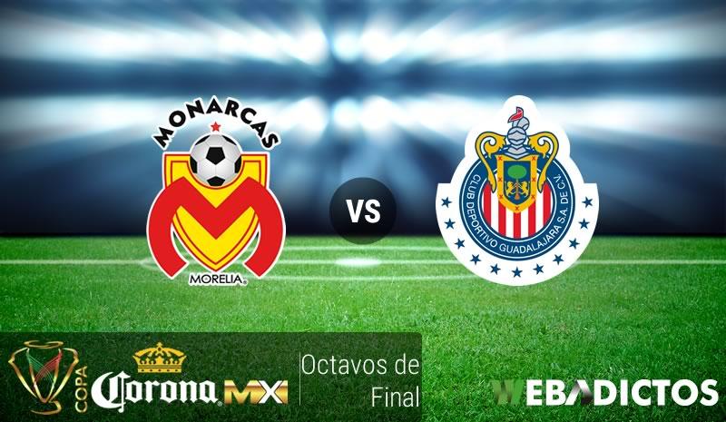 Morelia vs Chivas, Copa MX Apertura 2016 ¡En vivo por internet! | Octavos de final - morelia-vs-chivas-octavos-de-copa-mx-apertura-2016
