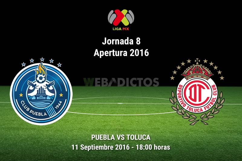 Puebla vs Toluca, Jornada 8 de la Liga MX A2016 - puebla-vs-toluca-apertura-2016