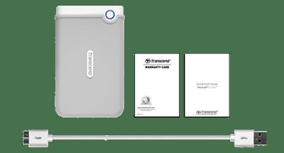Disco duro portátil StoreJet 100 para Mac Transcend 2TB [Review] - storejet-100-incluye-empaque