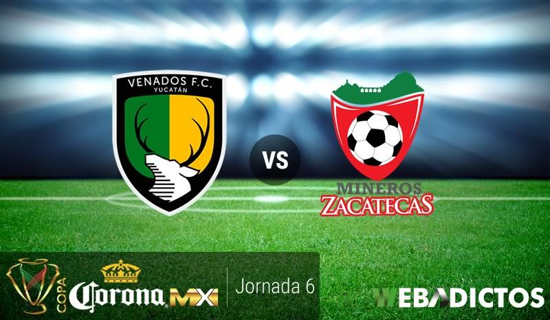 Venados vs Mineros, J6 de la Copa MX A2016   Resultado: 4-4 - venados-vs-mineros-j6-copa-mx-apertura-2016