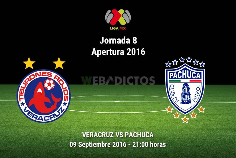 Veracruz vs Pachuca, Jornada 8 del Apertura 2016   Resultado: 1-0 - veracruz-vs-pachuca-apertura-2016