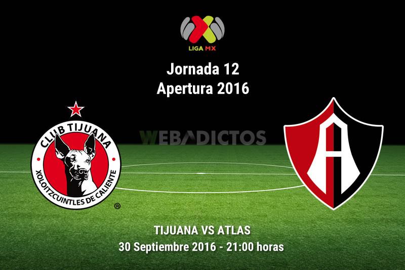 Xolos de Tijuana vs Atlas, J12 Apertura 2016   Resultado: 1-0 - xolos-tijuana-vs-atlas-apertura-2016