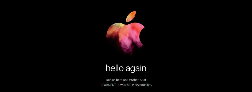 Apple confirma la presentación de las nuevas Mac - apple-october-keynote