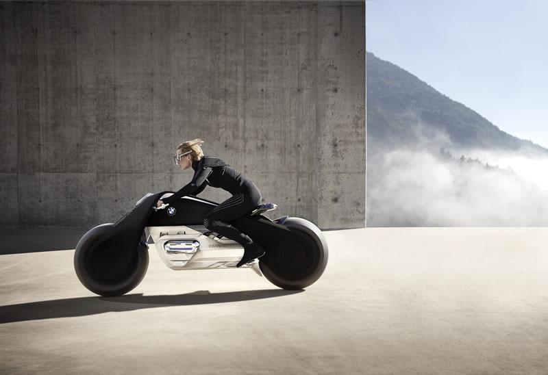 Las motos del futuro según BMW: BMW Motorrad VISION NEXT 100 - bmw-motorrad-vision-next-100-moto-del-futuro