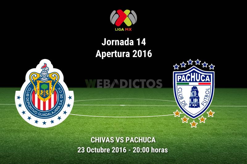Chivas vs Pachuca, Jornada 14 del Apertura 2016 | Resultado: 1-2 - chivas-vs-pachuca-apertura-2016