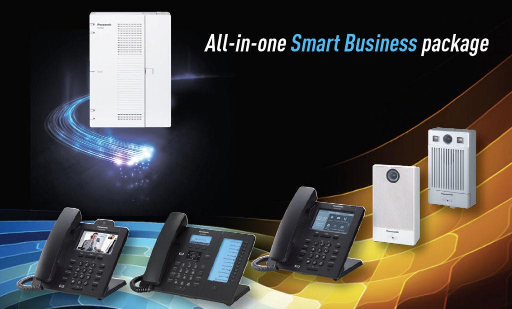 "Panasonic KX-HTS32: Solución de comunicaciones ""All-in-one"" para PyMEs - kx-hts32"
