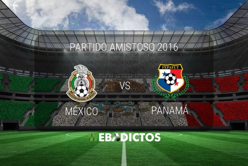 México vs Panamá 2016, partido amistoso | Resultado: 1-0 - mexico-vs-panama-amistoso-2016