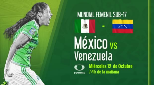 México vs Venezuela, Mundial Femenil Sub 17 | Resultado: 1-2 - mexico-vs-venezuela-en-vivo-femenil-sub-17