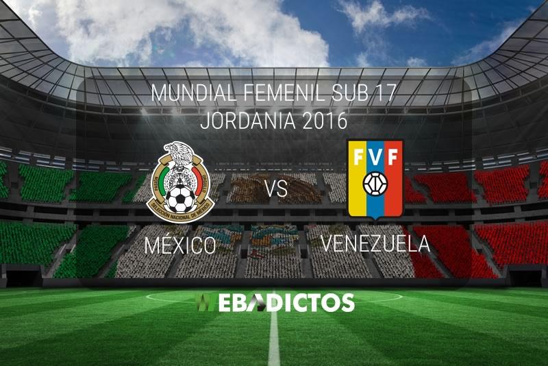 México vs Venezuela, Mundial Femenil Sub 17 | Resultado: 1-2 - mexico-vs-venezuela-femenil-sub-17-2016