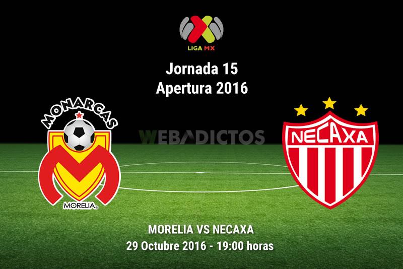 Morelia vs Necaxa, Jornada 15 Apertura 2016 | Resultado: 2-1 - monarcas-morelia-vs-necaxa-apertura-2016