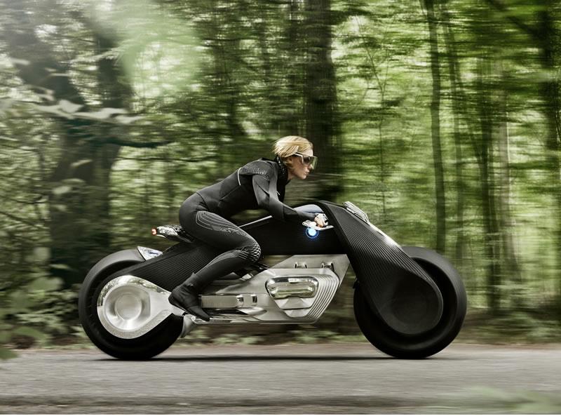 Las motos del futuro según BMW: BMW Motorrad VISION NEXT 100 - moticicletas-del-futuro-bmw-motorrad-vision-next-100