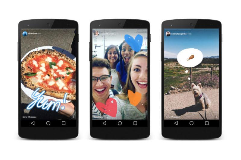 Aprende a usar Instagram Stories y sus funciones más recientes - neon-highlight-drawing-emoji-800x530