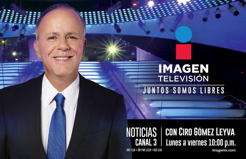 Conoce la programación de Imagen Televisión, el nuevo canal de TV abierta en México - noticias-ciro-gomez-leyva-imagen-television