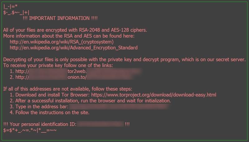 Llegó 'odín', la nueva versión del ransomware 'locky' - odin-ransomware