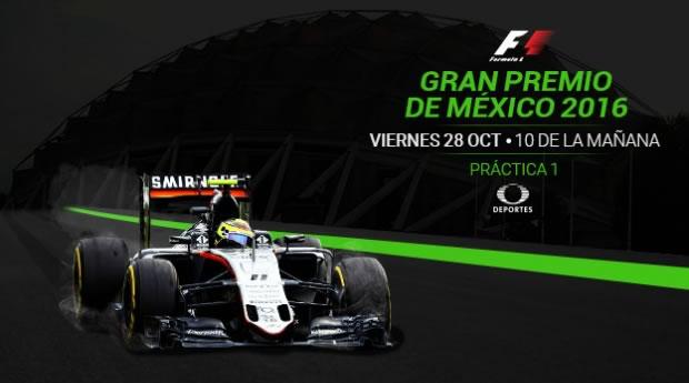 Ve las prácticas del Gran Premio de México 2016 en vivo en tus dispositivos - practica-1-gran-premio-de-mexico-2016