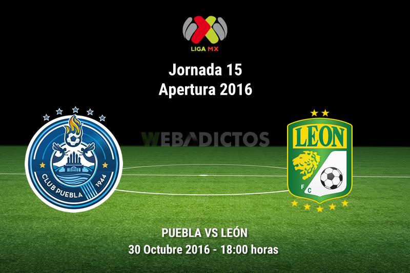 Puebla vs León, Fecha 15 del Apertura 2016   Resultado: 2-2 - puebla-vs-leon-apertura-2016