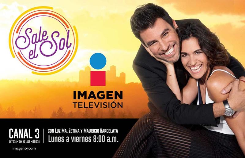 Conoce la programación de Imagen Televisión, el nuevo canal de TV abierta en México - sale-el-sol-canal-imagen-television