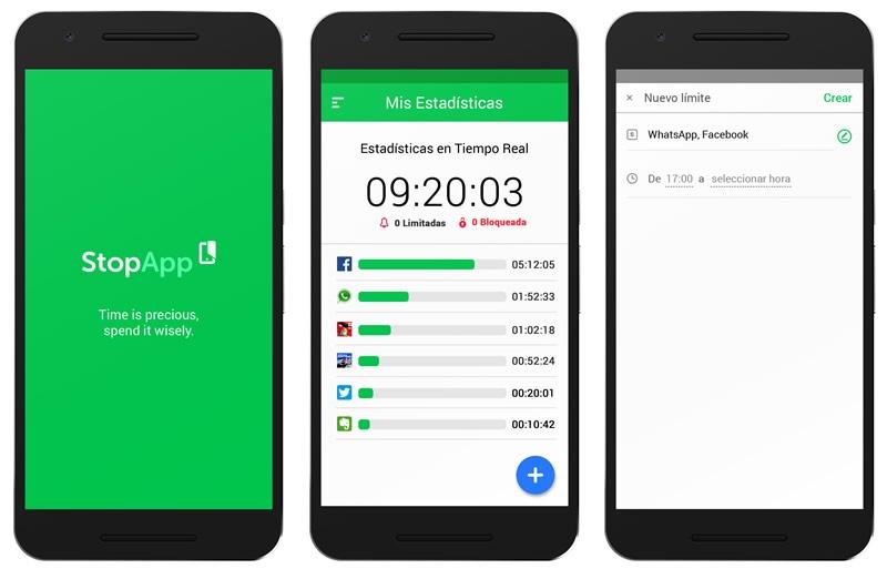 Controla el tiempo que utilizas tu celular y mejora tu productividad con StopApp - stopapp-bloquear-apps