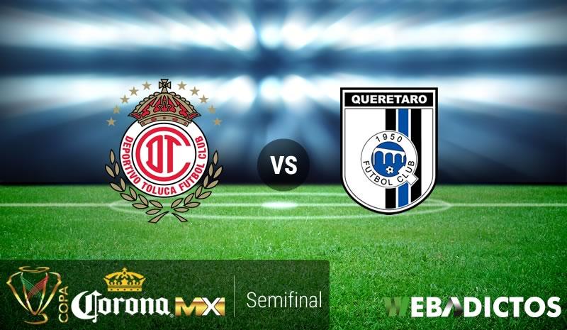 Toluca vs Querétaro, Semifinal de Copa MX Apertura 2016   Resultado: 0-0 - toluca-vs-queretaro-semifinal-copa-mx-apertura-2016