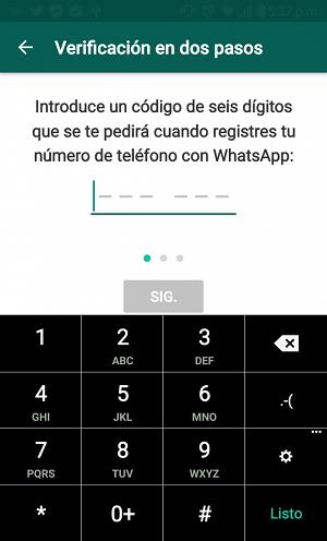 WhatsApp activa la 'Verificación en dos pasos' para 'usuarios beta' - 20161110175408_capture_2016_11_10_17_37_23_620x6200