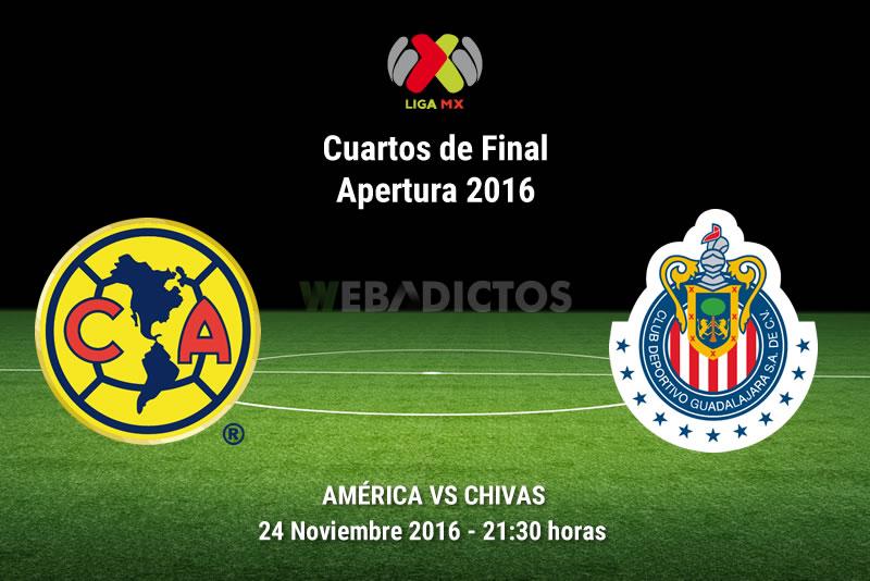 América vs Chivas, Liguilla del Apertura 2016   Resultado: 1-1 - america-vs-chivas-liguilla-apertura-2016