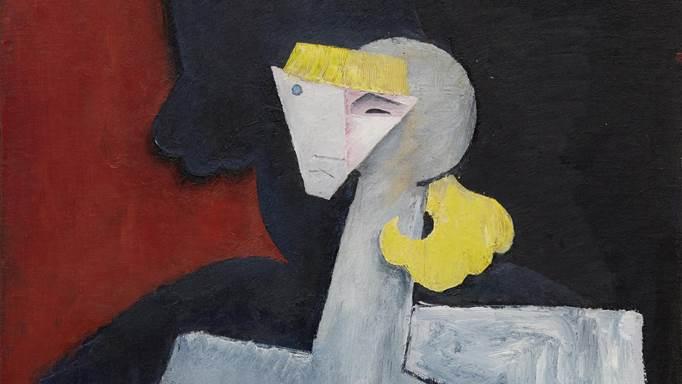 Obra de Diego Rivera en la subasta de Arte Latinoamericano en NY - diego-rivera-retrato-de-marevna-1916