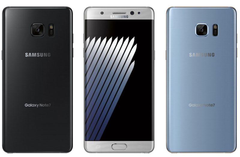 Galaxy Note 7 ahora persuade a los clientes para devolver el dispositivo - galaxy-note-7-blu-black