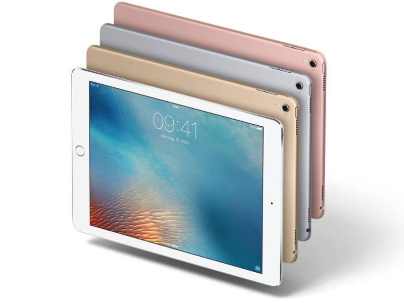 El nuevo iPad no tendría botón de inicio - ipad-pro-9-7-colors