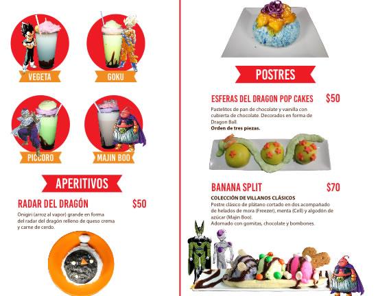 Celebra el 30 aniversario de Dragon Ball con estos menús temáticos en CDMX - menu-tematico-dragon-ball