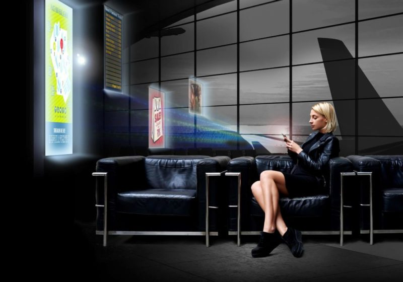 Panasonic presenta LinkRay, tecnología que combina el uso de frecuencias de luz LED - panasonic-linkray-shopping-800x560