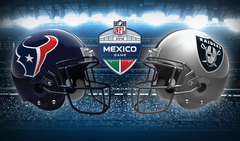 Raiders de Oakland vs Houston, NFL en México | Resultado: 27-20 - raiders-oakland-vs-houston-nfl-en-mexico