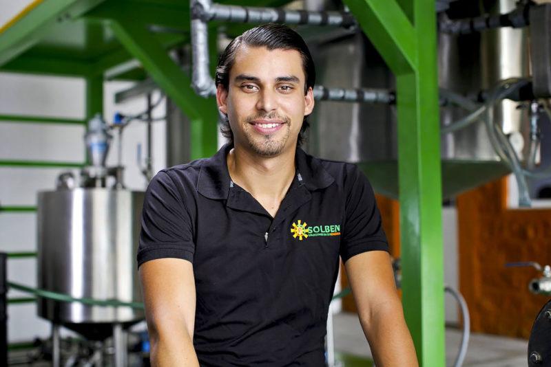 Emprendedor mexicano creó exitosas plantas productoras de biodiesel con presencia en Latinoamérica - solben-800x534