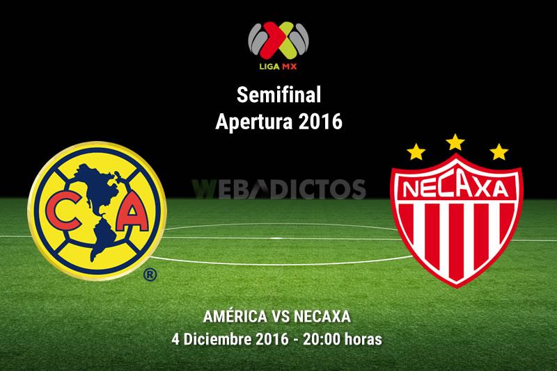 América vs Necaxa, vuelta de la Semifinal A2016 | Resultado: 2-0 - america-vs-necaxa-semifinal-apertura-2016