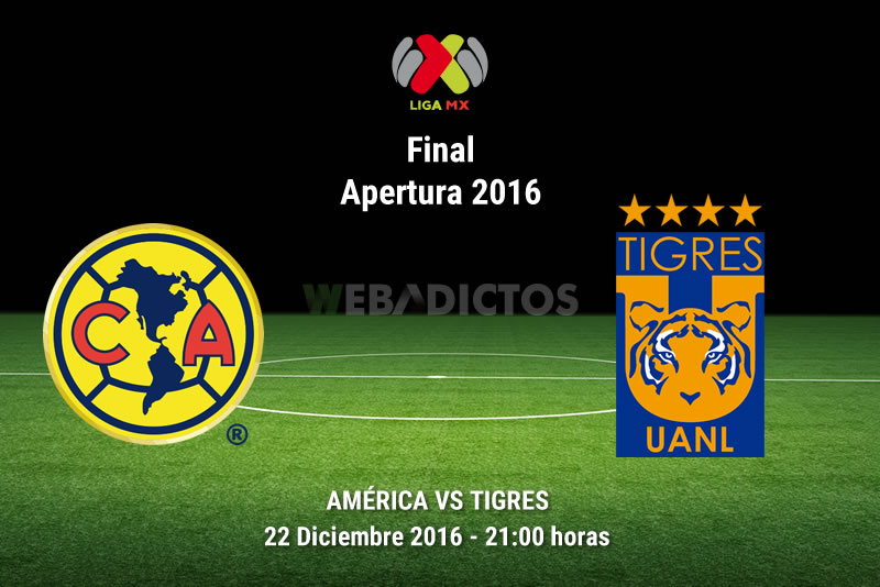 América vs Tigres, Final Liga MX A2016   Resultado: 1-1 - america-vs-tigres-final-apertura-2016-ida